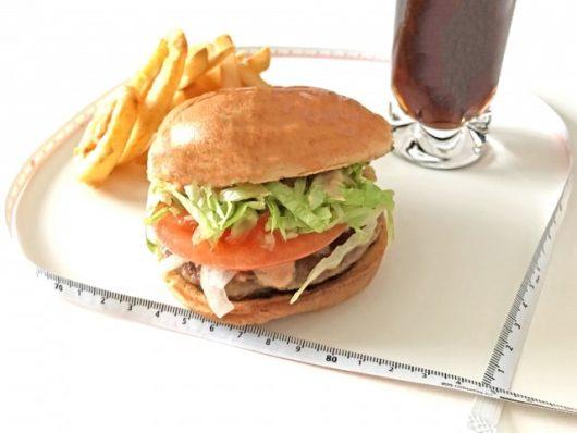 ハンバーガーのイメージ図