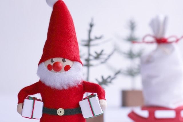 サンタクロースのマスコット