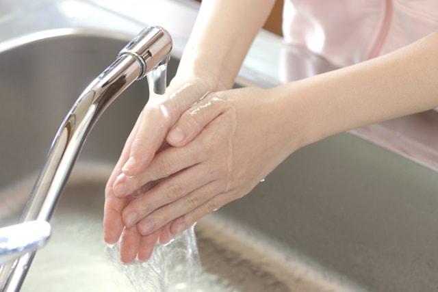 手洗いイメージ図